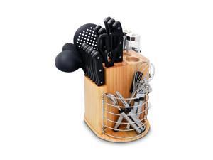 Ragalta  PLCKS-200B  31 Piece Carousel Knife & Kitchen Tool Set