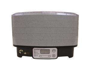 Chard DD-5S Gray 5 Tray Digital Dehydrator