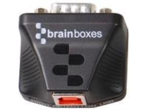 Brainboxes Ultra 1 Port RS232 USB to Serial Adapter