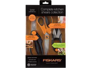 Fiskars 510061-1001 3pc Kitchen Shear Set