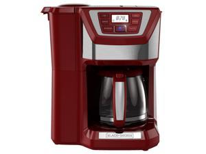 Black & Decker  CM5000RD  Red  12-Cup Mill+Brew Coffeemaker