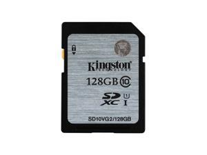 Kingston 128GB Secure Digital Extended Capacity (SDXC) Flash Card Model SD10VG2/128GB SD10VG2/128GB