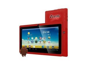 "Zeepad 7DRK-Q-RED Allwinner Cortex A7 512 MB Memory 4 GB 7.0"" Touchscreen Tablet Android 4.4 (KitKat)"