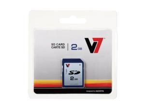 V7 VASD2GR-1N 2 GB Secure Digital (SD) Card - 1 Card - Retail