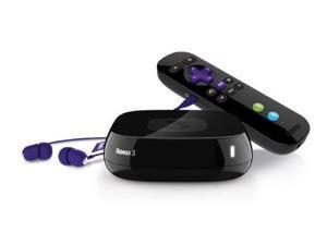 Roku 4200R 3 Streaming Media Player - Fast Ethernet - Netflix, VUDU
