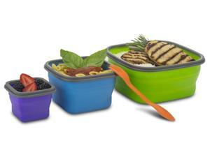 Smart Planet EC34STOR6 Collapsible 7 Piece Food Storage Set