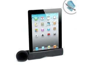AudioBoost Apple iPad Speaker Enhancer with Stand for Audio Amplification Works with iPad 4 , iPad 3 , iPad 2 & Original iPad