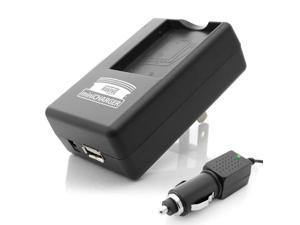 PRO SERIES Equivalent PANASONIC DE-A25 External Charger for CGA-S007 A/1B Battery used with LUMIX DMC-TZ1 / DMC-TZ3 Digital Cameras. Features USB Port for Charging USB Enabled Devices.
