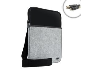 USA Gear Protective Memory Foam Tablet Case with Shoulder Strap for ASUS Tablets