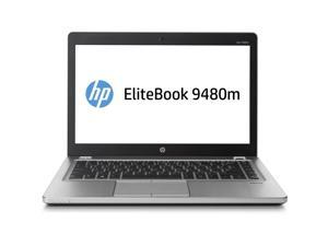 "HP Laptop EliteBook Folio 9480m Intel Core i5 4 GB Memory 256 GB SSD Intel HD Graphics 4400 14.0"" Windows 7 Professional 64-Bit Upgradable to Windows 10 Pro"