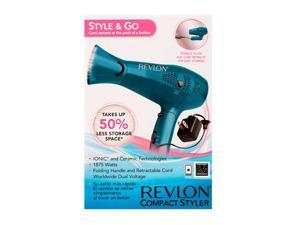 REVLON RVDR5175 Essentials 1875W Cord Control Travel Dryer