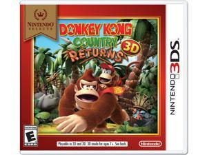 Nintendo Donkey Kong Country Returns 3D - Action/Adventure Game - Nintendo 3DS