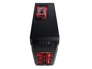 CyberPowerPC Gamer Ultra GUA550 Desktop Computer - AMD FX-Series FX-6300 3.50 GHz - Black, Red