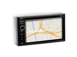 """Boss BVML9384 Double DIN DVD/CD/AM/FM/MP3/WMA Receiver with 6.2"""" LCD Monitor, Built-In Bluetooth and Remote Control"""