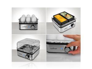 NutriChef PKEC40 Electronic Food Steamer / Egg Boiler