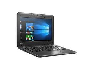 """Lenovo N22-20 80VH0001US 11.6"""" (In-plane Switching (IPS) Technology) Chromebook - Intel Celeron N3060 Dual-core (2 Core) 1.60 GHz - Business Black"""