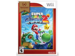 Wii Selects Super Mario Galaxy 2