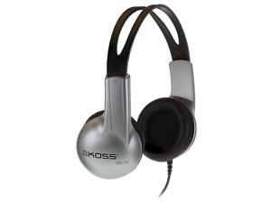 Koss UR10HB Closed Ear Design Stereo Headph Poly Bagged Lightweight Adjustable