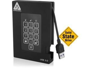Apricorn Aegis Fortress A25-3PL256-S4000F 4TB External Solid State Drive