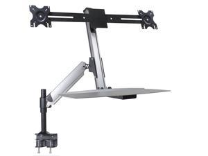 Doublesight - DS-ERGO-200 - DoubleSight Displays DS-ERGO-200 Mounting Arm for Monitor, Mouse, Keyboard - 24 Screen