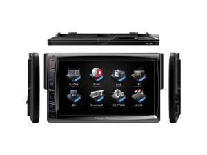 Power Acoustik PD-712 Single DIN Multi-media Source w/ Detachable Motorized 7-Inch Touchscreen