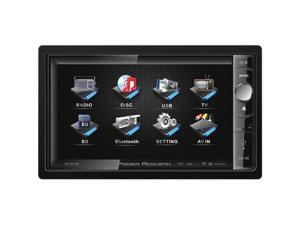 "Power Acoustik PD-650 Din Multimedia Unit with Motorized 6.5"" LCD Touchscreen"