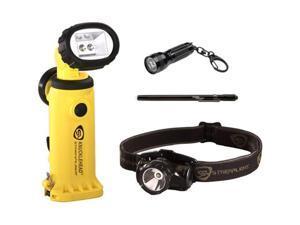 Streamlight 90642 Knucklehead® LED 4AA Flashlight Yellow