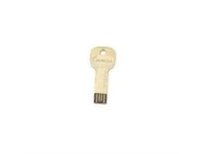 Impecca 8GB USB Key Drive - Gold