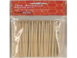 6 Inch Bamboo Skewers - 100 pcs. By Fox Run