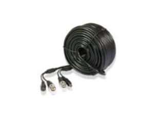 Zmodo Cable W-VP1030 30M 99 feet Pre-Made Plug-n-Play AWG-24 CCTV BNC Video 5.5mm Power Bare