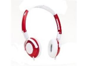 Bytech HDST-3001 Stereo Headphones w/Inline Microphone & 3.5mm Jack (Green/Black)