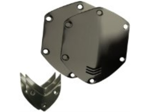 V-MODA Crossfade Over-Ear Headphone  Metal Shield Kit (Gunmetal Black)