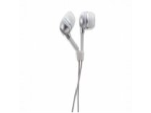 a.m.p dBs In-Ear High-Efficiency Performance Headphones, Silver