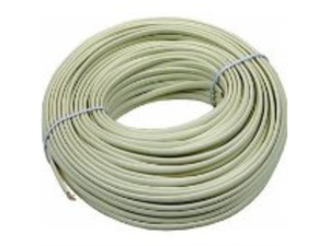RCA TP001N 100-ft 4 Wire Flat Station Wire Cord (Almond)