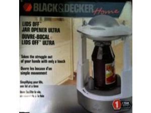 Black & Decker Home - Lids Off Jar Opener Ultra - JW260 - White