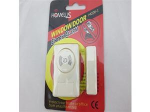BW Magnet Alarm Fit for Door and Window - White