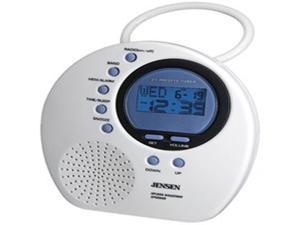 Jensen AM/FM Shower Radio with Digital PLL Tuning - JWM 160