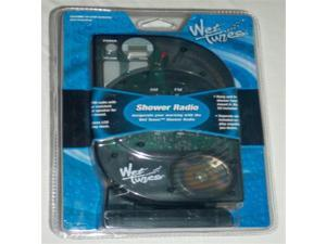 Wet Tunes - SHOWER RADIO (AM/FM) with LCD Display Clock