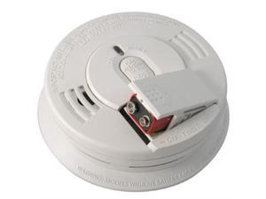 Kidde 21009444 Hardwire Interconnectable 120-Volt Smoke Alarm With Battery Backup with Adapters