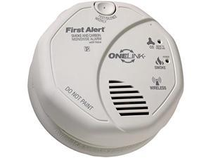 FIRST ALERT - First Alert Onelink Battery Operated Combination Smoke & Carbon Monoxide Alarm With Voice Location (pack of 1 Ea)