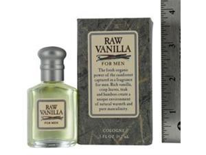 Raw Vanilla Cologne for MEN By Coty 0.50 Oz Mini Cologne