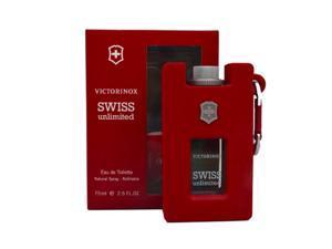 Victorinox Swiss Unlimited Eau de Toilette Spray, 2.5 Ounce