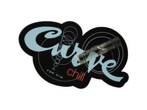 CURVE CHILL by Liz Claiborne COLOGNE VIAL ON CARD for MEN ---(Package Of 5)