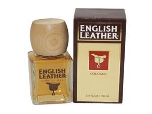 Dana English Leather Cologne Splash for Men, 3.4 Ounce