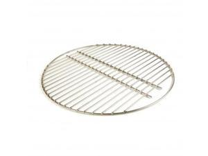 Big Green Egg - Stainless Steel Grid for MEDIUM EGG- Authentic Big Green Egg Grill & Smoker Accessories are a Must for BGE Users. Satisfaction Guaranteed!