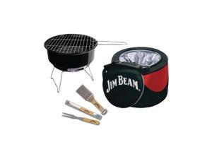Jim Beam Jb0105 5-Piece Cooler & Grill Set
