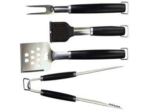Charcoal Companion Perfect Chef Barbecue Tool Set (4-Piece) - CC1005