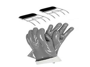 Steven Raichlen Best of Barbecue Insulated Food Gloves & Meat Claws Set - SR8153