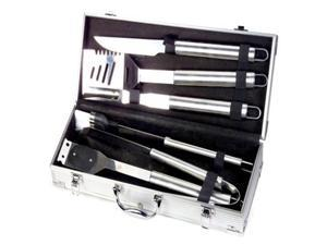 Style Asia HW4112 Chefs Basics Select 6-Piece Stainless-Steel BBQ Set in Metal Case by Style Asia