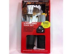 5 Piece BBQ Tool Set 812-9038-Q + Apron by Brinkmann